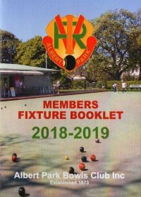 Resources - fixture booklet cover