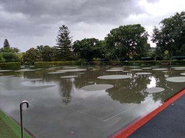 Waterlogged Green